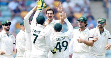 पाकिस्तानमाथि अष्ट्रेलियाको एक पारी र पाँच रनको जित