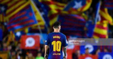 मेस्सीको ५० गोल पुरा, बार्सिलोना ४-१ ले विजयीसमुह विजेता बन्दै बार्सिलोना नकआउट चरणमा