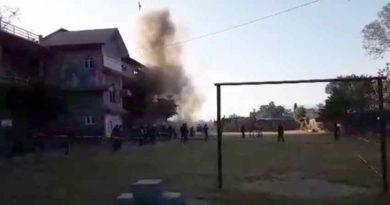 पोखराको मतदानस्थल लक्षित गरि बम प्रहार