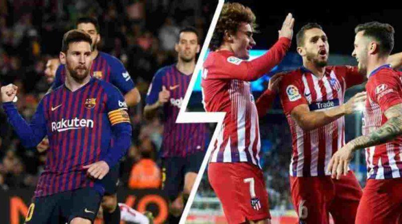 ला लिगा फुटबल:मेस्सी बने नायक,बार्सिलोना शीर्ष स्थानमाला लिगा: आज बार्सिलोना र एट्लेटिको भिड्दै,(खेलबारे सम्पूर्ण जानकारी)