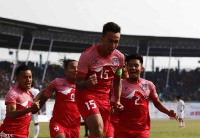 where and how to watch Nepal vs Bhutan football match liveनेपाली टिमका फरवार्ड रेजिनले फुटबलको फाइनल खेल गुमाउने१३ औं साग फुटबल(फाईनल): स्वर्ण पदकको लागि नेपाल र भुटान भिड्दै१३औं साग फुटबल(पुरुष): फाईनलमा पुग्न नेपालले बराबरी खेले पुग्ने13th SA Games 2019 Men's Football: Nepal vs Maldives नेपालले भुटान ४-० गोल अन्तरले हरायो