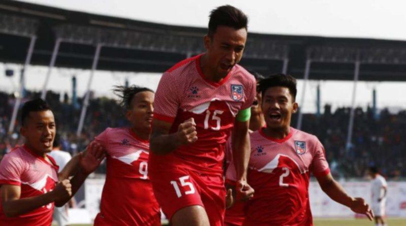 १३ औं साग फुटबल(फाईनल): भुटानलाइ पराजित गर्दै नेपालले जित्यो स्वर्ण१३औं साग फुटबल(पुरुष): फाईनलमा पुग्न नेपालले बराबरी खेले पुग्ने१३ औं साग फुटबल(पुरुष ): नेपाल बिरुद्ध श्रीलंका