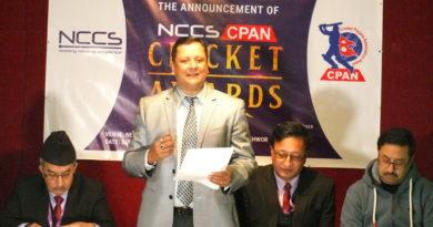 सिप्यान क्रिकेट अवार्ड हुँदै, वर्ष महिला र पुरष खेलाडीलाई नगद १ लाख ३२ हजार
