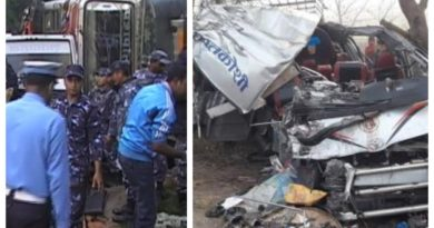 सुनसरीको तित्रृबनामा बस र हाईस दुर्घटना, ३ जनाको ज्यान गयो