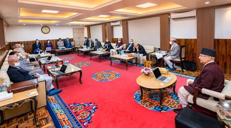 काठमाडौँ — सरकारले सोमबार बिहान १० बजेदेखि एक हप्तासम्म भारत र चीनसँगको सीमा नाकामा आवागमन पूर्णरुपमा बन्द गर्ने निर्णय गरेको छ ।