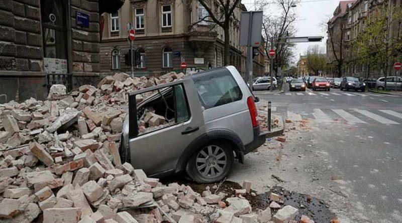 क्रोएशियामा भूकम्प, ठूला भवनहरु क्षतिग्रस्त