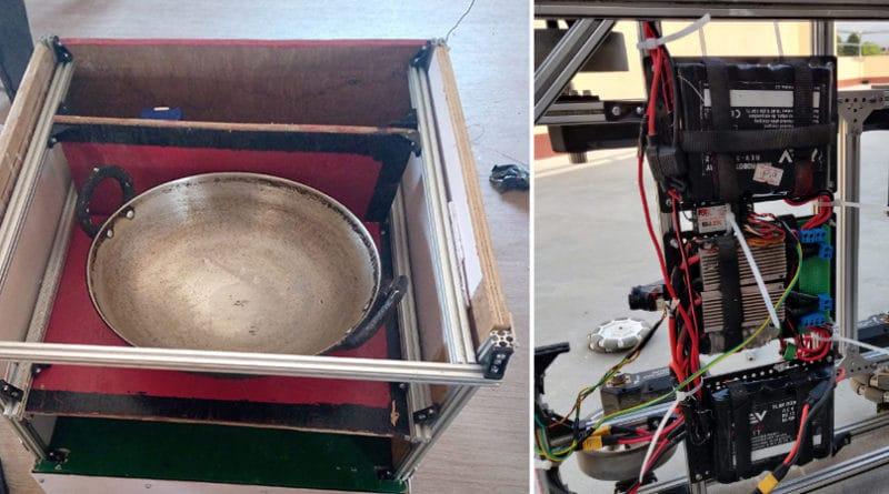 नेपालमै बन्यो कोरोना संक्रमितलाइ खाना पु-याउने रोबोट