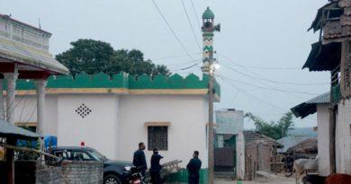 १२ जना संक्रमित फेला परेको मस्जिद क्षेत्र सिल