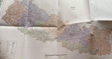 Map of Nepal (New) with Limpiyadhura