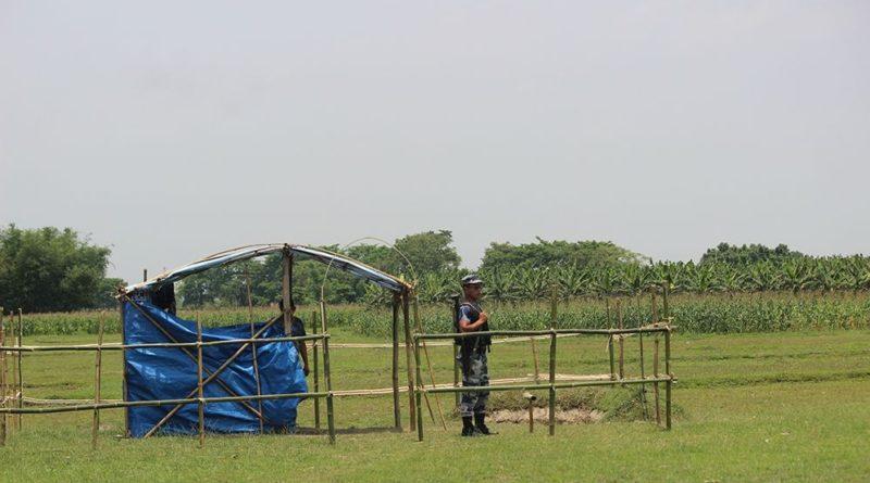 जेठ २०७७ काँकडभिट्टा : झापाको कचनकवल–१ घेराबारीको झन्डुगाउँमा रहेको सशस्त्र प्रहरीको अस्थायी सुरक्षा पोस्ट भारतीय समूहले भत्काइदिएको छ ।