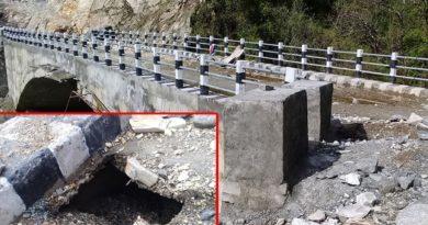 छ महिना टिकेन दुई करोडको पुल