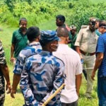 स्थानीय र नेपाल प्रहरी मिलेर खेदे दशगजामा सुरक्षा पोस्ट बनाउन आएका भारतीय प्रहरी