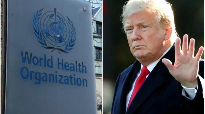 अमेरिका र 'विश्व स्वास्थ्य संगठन' बीच वाक युद्ध