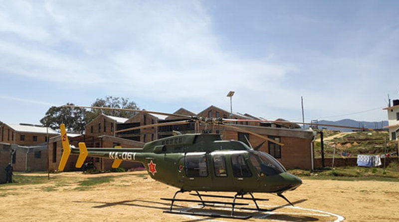 हेलिकप्टरबाट उद्धार गरिएकी गर्भवतीमा कोरोना सङ्क्रमण भेटिएपछी अस्पताल बन्द