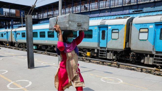 कोरोना भाइरस: भारतले दिल्लीमा वार्डको रूपमा 'रेल' प्रयोग गर्ने