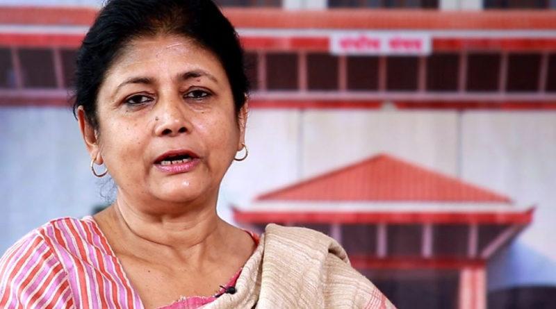 सांसद सरिता गिरीद्वारा संविधान संशोधन खारेज गर्न प्रस्ताव दर्ता, पार्टीले दियो कारबाहीको चेतावनी
