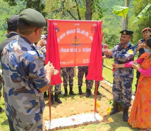 दार्चुलामा एकैदिन सशस्त्रको तीन सीमा सुरक्षा चौकी स्थापना
