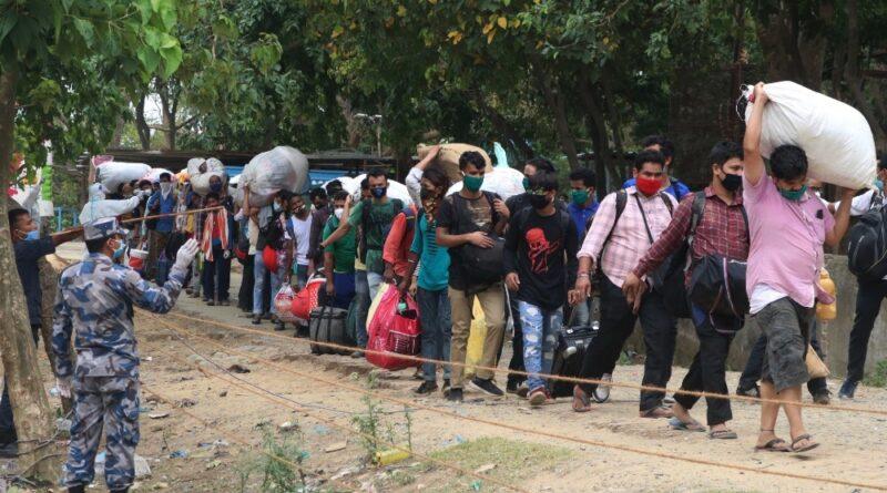 भारतबाट श्रम गर्न नेपाल आउन रोक